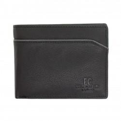Portafoglio in pelle uomo ENRICO COVERI CONTEMPORARY con portamonete porta carte e ribaltina Nr.: 04
