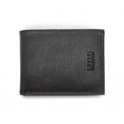 Portafoglio ENRICO COVERI in pelle uomo con portamonete porta carte e ribaltina Mod. 7-292