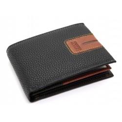 Portafoglio uomo in vera pelle firmato ENRICO COVERI con portamonete porta carte