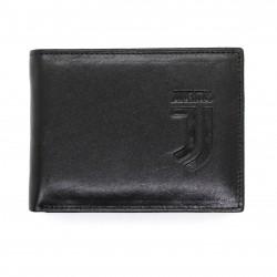 Portafoglio in Vera Pelle JUVENTUS FC con portamonete porta carte e ribaltina Mod.:131290