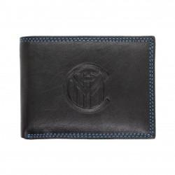 Portafoglio in Vera Pelle uomo FC INTER con portamonete porta carte 151612