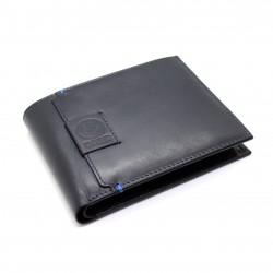 Portafoglio in Vera Pelle uomo FC INTER con portamonete porta carte 151303