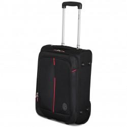 Prodotto Ufficiale Valigia Trolley  AC MILAN Bagaglio a Mano 52x35x20 2 Ruote Ryanair EasyJet