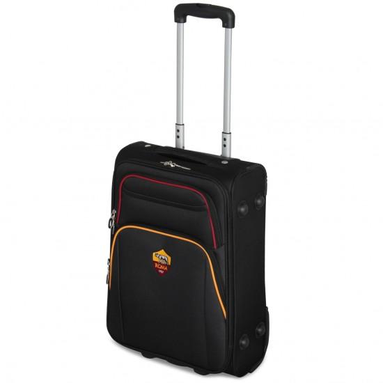 Prodotto Ufficiale Valigia AS ROMA  Bagaglio a Mano 52x35x20 2 Ruote Ryanair EasyJet Bagagli a Mano