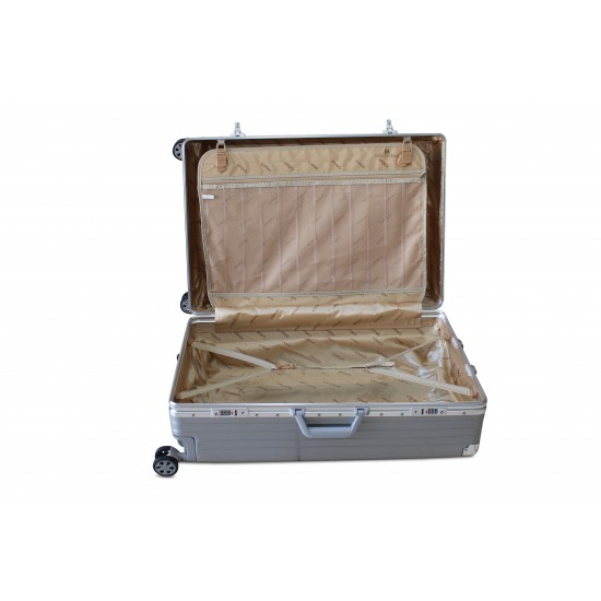 Trolley / Tris  In Alluminio + ABS Con 8 Ruote e Lucchetto TSA Trolley