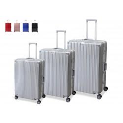 Trolley / Tris  In Alluminio + ABS Con 8 Ruote e Lucchetto TSA