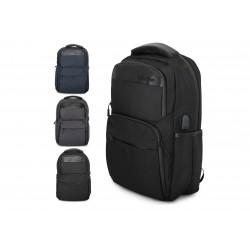 Zaino Imbottito  Lavoro Tempo Libero Viaggio con Tasca Pc e uscita USB Mod.: 603