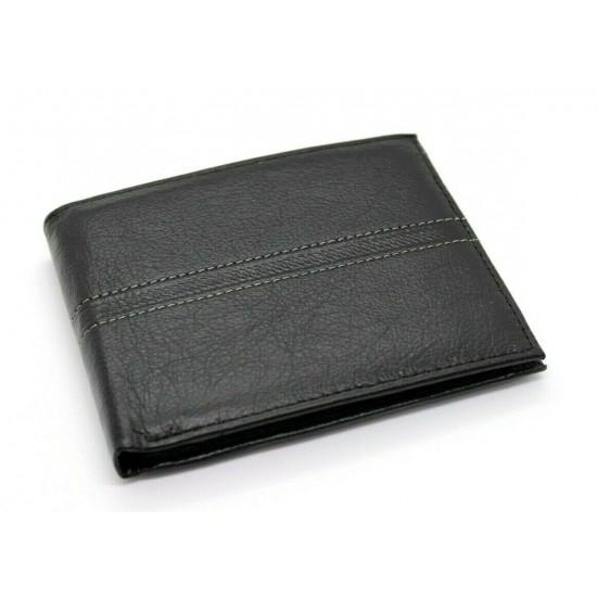 61338ca0bf Portafoglio uomo in vera pelle con portamonete porta carte e ribaltina  Mod.: L-