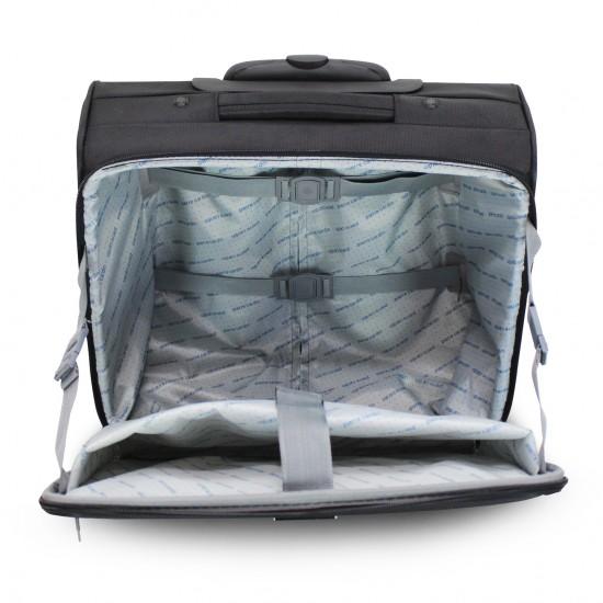 Pilota valigia Pierre Cardin bagaglio a mano pilotina da cabina con tasca laptop pc
