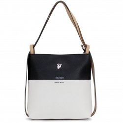 Borsa tracolla donna  POLO CLUB zaino casual in ecopelle con cerniera zip