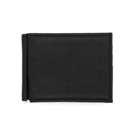 Portafoglio slim ferma banconote con clip porta carte portamonete