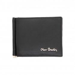 Portafoglio porta carte uomo slim Pierre Cardin in vera pelle con portamonete