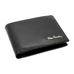 Portafoglio Pierre Cardin in pelle uomo con portamonete porta carte e ribaltina