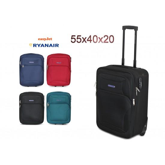 Valigia Bagaglio a Mano Enrico Coveri Espandibile 55x40x20