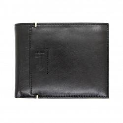 Portafoglio in Vera Pelle JUVENTUS FC con portamonete porta carte e ribaltina Mod.:131303