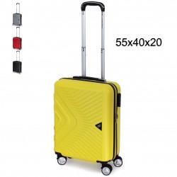 Valigia Trolley COVERI WORLD Bagaglio a Mano 55x40x20 Rigido con 4 Ruote