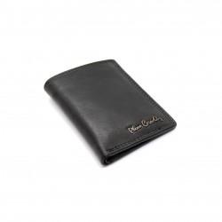 Portafoglio Mini a Libretto in Vera pelle Pierre Cardin con portamonete porta carte 1810