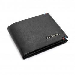 Portafoglio Pierre Cardin RFID in pelle uomo portamonete porta carte e ribaltina 8807