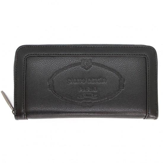 Portafoglio da donna PIERRE CARDIN portamonete borsellino con Zip  e ribaltina Mod.: 868