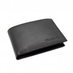 Portafoglio uomo in vera pelle Pierre Cardin slim con portamonete porta carte