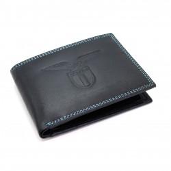 Portafoglio in Vera Pelle SS Lazio con portamonete porta carte e ribaltina Mod.:171612