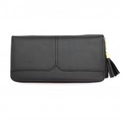 Portafoglio donna borsellino porta carte porta documenti in ecco pelle