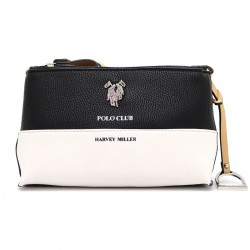 Borsa da donna piccola, pochette POLO CLUB in ecopelle con tracolla