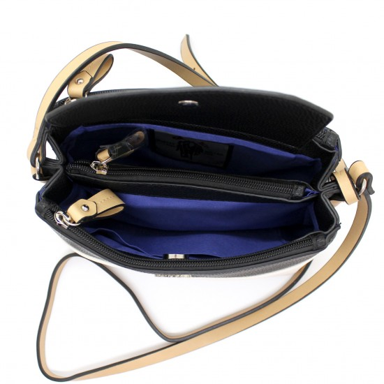 Borsa donna piccola pochette borsetta POLO CLUB in ecopelle