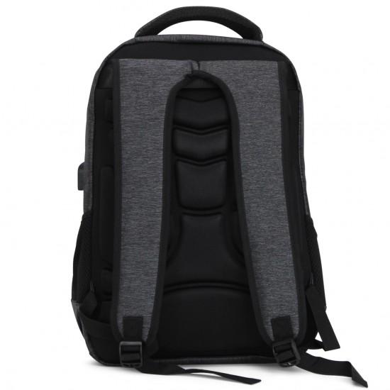 Zaino Pierre Cardin imbottito impermeabile con tasca Pc USB