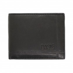 Portafoglio in pelle uomo slim porta carte Basile con portamonete