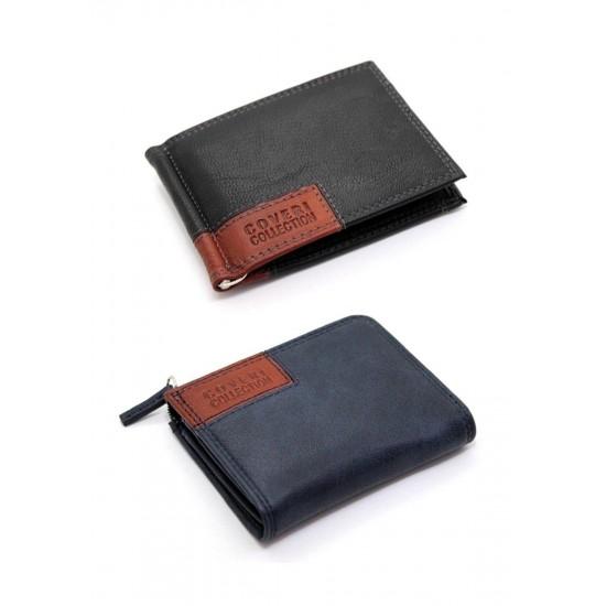 24fa6f4cdc Porta carte di credito in vera pelle portatessere bancomat uomo ENRICO  COVERI Porta carte