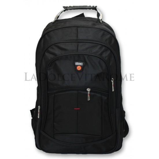 Zaino Borsa Porta PC Laptop  Documenti Ufficio e Tempo Libero BUSINESS Imbottito Zaini