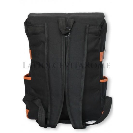 Zaino Spalla Uomo Donna Canvas Tempo Libero Sport Porta PC Laptop Bag Imbottito Zaini