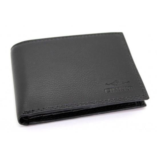 ba2894d4fc Portafoglio in pelle uomo porta carte e ribaltina CHARRO morbido con portamonete  Portafogli
