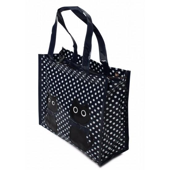 Shopper Borsa  Donna In Plastica Busta Spesa Casual Universale Borse Donna