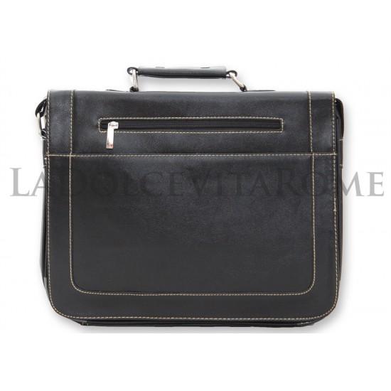 Borsa Uomo Ventiquattrore Tracolla  Porta Documenti PC Notebook Ufficio Lavoro  Borse Portadocumenti e Pc