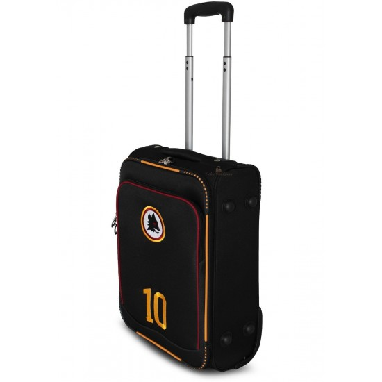 Valigia Trolley Bagaglio a Mano AS ROMA  52x35x20 2 Ruote Ryanair EasyJet Bagagli a Mano