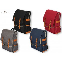 Zaino Spalla Uomo Donna Canvas Tempo Libero Sport Porta PC Laptop Bag Imbottito